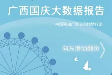 广西移动国庆大数据报告正式出炉今年国庆去往北京的广西游客比去年同期增加130%