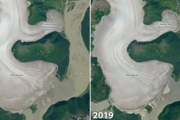 NASA发布最新相片显现国际最厚冰川逐步消融