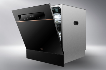 华帝干态抑菌洗碗机A6:洗消存三大核心技术,全新升级功能更强